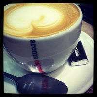 Photo taken at Aroma Espresso Bar by Graham P. on 10/16/2012
