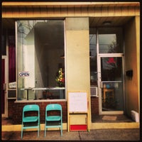 Photo taken at Wallace Espresso by Graham P. on 2/14/2013
