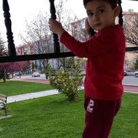 Photo taken at Şehit gaffar okkan parkı by Meryem Y. on 4/18/2015