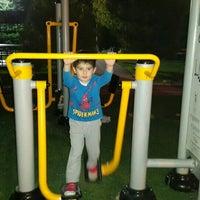 Photo taken at Şehit gaffar okkan parkı by Meryem Y. on 8/29/2015