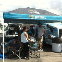 Photo taken at Tailgaters Parking by Marc B. on 10/7/2012