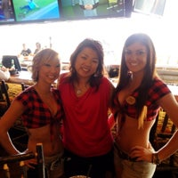 Photo Taken At Twin Peaks Restaurant Amp Sports Bar By Donna C On 4