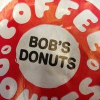 Photo taken at Bob's Coffee & Doughnuts by Doc P. on 10/21/2012