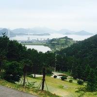 Photo taken at 봉황산자연휴양림 by Nina K. on 7/17/2015