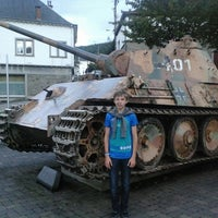 Photo taken at german tank Houffalize by Jean-philippe v. on 8/28/2014