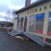Photo taken at asemankulman kauppa ja kahvila by Otto R. on 4/6/2014