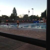Photo taken at Rinconada Pool by Alexander U. on 1/25/2015