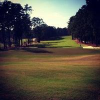 Photo taken at Mid Pines Golf Club by Matthew C. on 11/16/2013