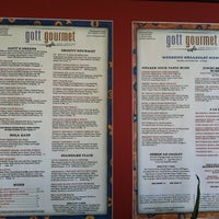 Photo taken at Gott Gourmet Café by Jason G. on 11/10/2012