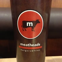Photo taken at Meatheads Burgers & Fries by Paul C. on 10/6/2012