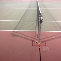 Photo taken at Carmichael tennis courts by Christopher B. on 7/13/2017