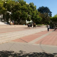 Photo taken at Sproul Plaza by Christopher B. on 4/2/2017