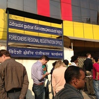 Photo taken at Foreigners Regional Registration Office by Vicki Y. on 1/30/2013