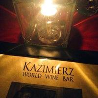 Photo taken at Kazimierz World Wine Bar by John G. on 1/31/2013