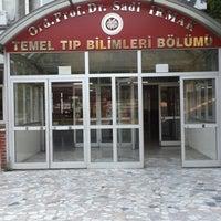 Photo taken at İstanbul Üniversitesi Temel Tıp Bilimleri by Mustafa T. on 8/10/2014