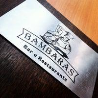 Photo taken at Bambaras Bar e Restaurante by Edgar K. on 10/31/2012