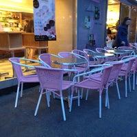 Photo taken at Aida Café-Konditorei by Jo U. on 4/28/2013