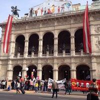 Photo taken at Vienna State Opera by Jo U. on 5/1/2013