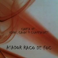 Photo taken at Asador Raco De Foc by Gerardo C. on 10/3/2012