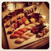 Photo taken at Moshi Sushi Bar by Robert C. on 10/10/2012