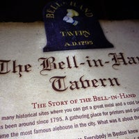 Photo taken at Bell In Hand Tavern by Jessica on 2/3/2013