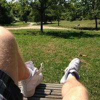 Photo taken at Parc Scheutbospark by Christophe L. on 7/21/2013