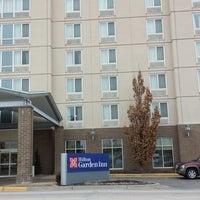 Photo taken at Hilton Garden Inn Kansas City by Fasttrack Fan on 3/1/2014
