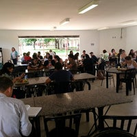 Photo taken at Delícias do Campus by Marcos V. on 4/3/2014