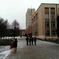 Photo taken at Sumy State University by Ivan H. on 11/23/2014