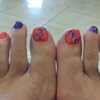 Photo taken at Nails World by Jessica h. on 7/12/2014