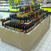 Photo taken at Auchan Fehér tó by Kispál R. on 3/13/2015