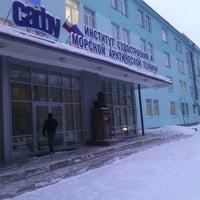 Снимок сделан в ИСМАРТ САФУ (бывш. Севмашвтуз) пользователем Vladimir U. 2/10/2014