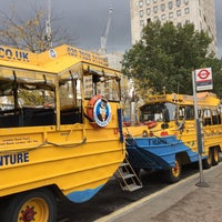 Photo taken at London Duck Tours by Martin D. on 10/12/2016