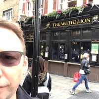 Photo taken at The White Lion by Martin D. on 9/20/2017