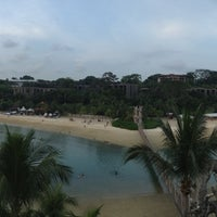 Photo taken at Palawan Beach by Thet M. on 4/28/2013