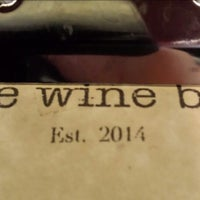 Photo taken at The Wine Bar by Nathan C. on 9/28/2014