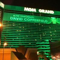 3/30/2013 tarihinde Paul B.ziyaretçi tarafından MGM Grand Hotel & Casino'de çekilen fotoğraf