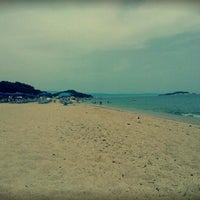 Photo taken at Totos Beach Bar by Theodora M. on 6/25/2014