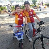 Photo taken at Büyükdere Çocuk Parkı by Bayram A. on 5/15/2014