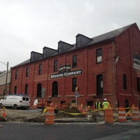 Photo taken at Lancaster Brewing Company by Karen I. on 10/9/2012