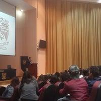 Photo taken at Auditorio Alberto Barajas by Karla D. on 9/6/2014