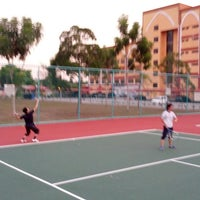Photo taken at Court Tenis MPHTJ by Mohd M. on 8/26/2013