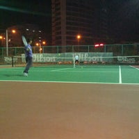 Photo taken at Court Tenis MPHTJ by Mohd M. on 6/14/2013
