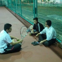 Photo taken at Court Tenis MPHTJ by Mohd M. on 6/21/2013