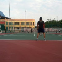 Photo taken at Court Tenis MPHTJ by Mohd M. on 7/1/2013