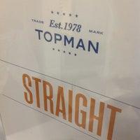 Photo taken at Topman by Tsard C. on 5/9/2013