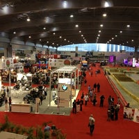 Photo taken at Expo Bancomer by Edgar R. on 10/20/2012