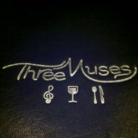 Photo taken at Three Muses by Chris H. on 11/28/2012
