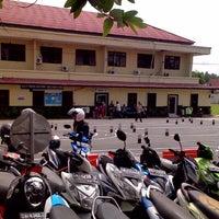 Photo taken at Polres Banjar by aris s. on 12/30/2014