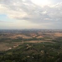 Photo taken at Dei Capitani Hotel Montalcino by YJ K. on 9/13/2015